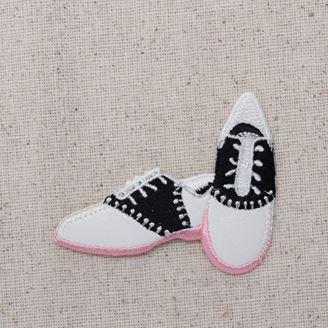 Saddle Shoes - Pink Sole