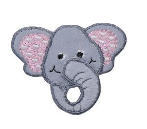 3-D Elephant Head