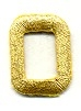 LETTER O GOLD IRON ON APPLQIUE 695760-B