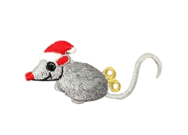 Christmas Mouse - Santa Hat