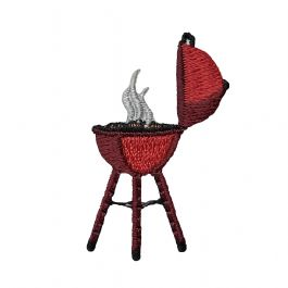Red BBQ Grill