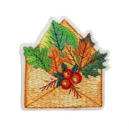 Envelope with Fall Leaves