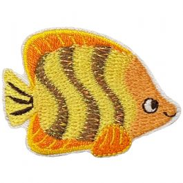 Yellow Striped Tropical Fish