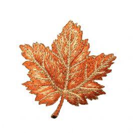 Maple Leaf - Brown/Tan