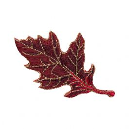 Oak Leaf - Burgundy