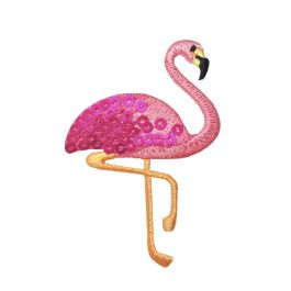 Sequin Pink Flamingo
