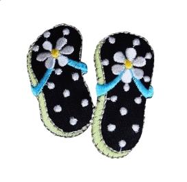 Flip Flops - Black/White