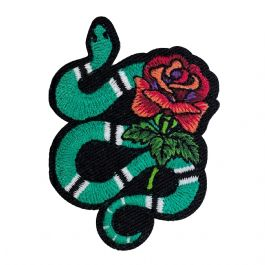 Snake with Rose
