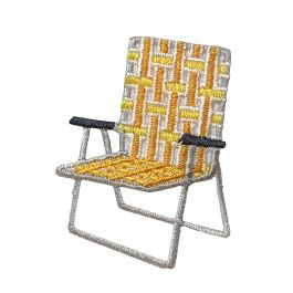Yellow Lawn Chair