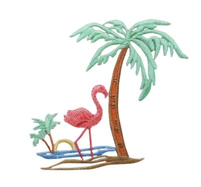 Flamingo Palm Tree