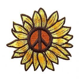 Sunflower Peace Sign