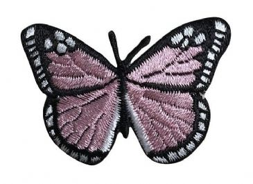 Light Pink/Black Butterfly 2