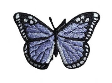 Lilac/Black Butterfly 2