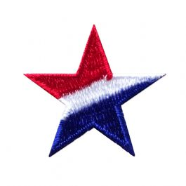 Red, White, and Blue Striped Star