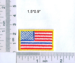 Small American Flag - Thin Blue Line