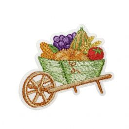 Wheelbarrow with Fruit and Vegetables