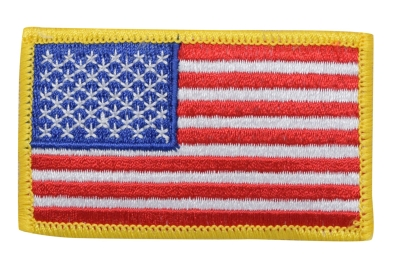 American Flag - Yellow Edge
