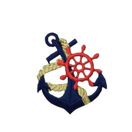 Blue Anchor/Red Wheel