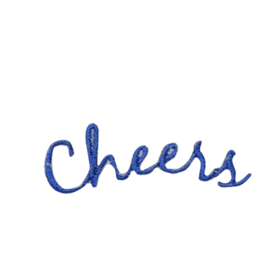 Blue Cheers Greeting