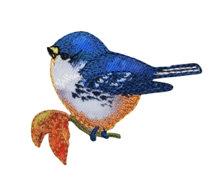 Bluebird - Orange Breast - Left