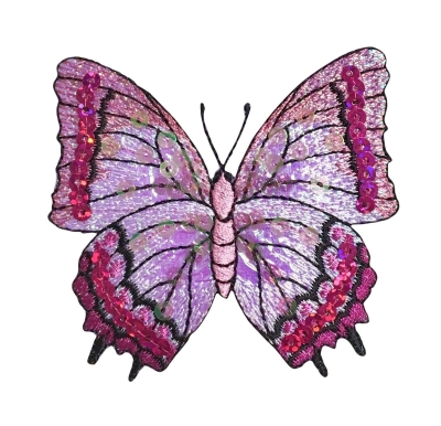 Butterfly - Fuchsia Sequin