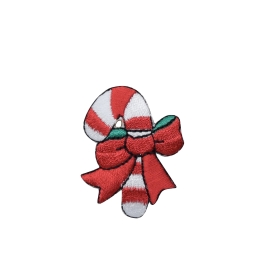 Candy Cane - Red Bow