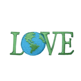 Love word with Earth
