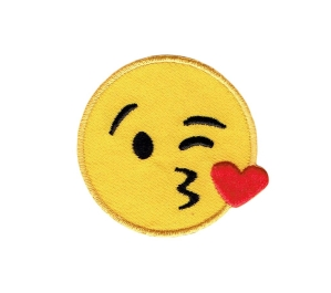 Large Emoji - Blowing Kiss on Cheek