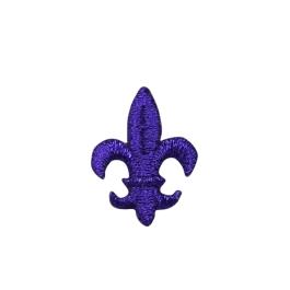 Medium Purple Fleur De Lis