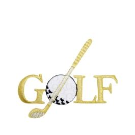 Golf - Putter/Ball - Gold