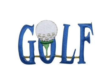 Blue Golf Word