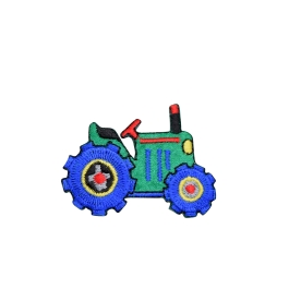 Green and Blue Farm Tractor