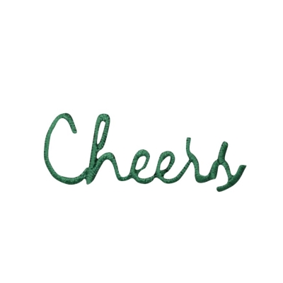 Green Cheers Greeting