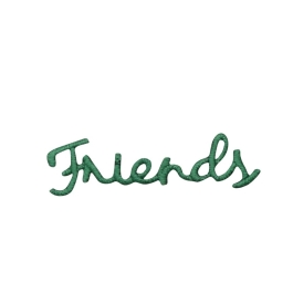 Green Friends Greeting