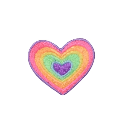 Multicolor Heart Rainbow