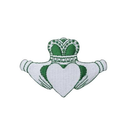 Irish Claddagh - Green