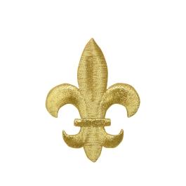L Gold Fleur De Lis