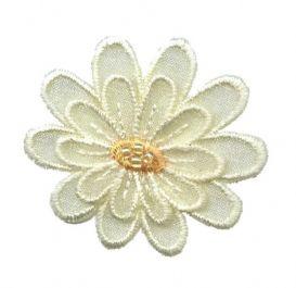 Flower Layered - Pale Yellow