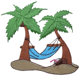 Palm Trees - Blue Hammock