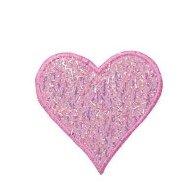 Pink Confetti Heart