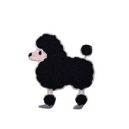 Chenille Poodle - Black