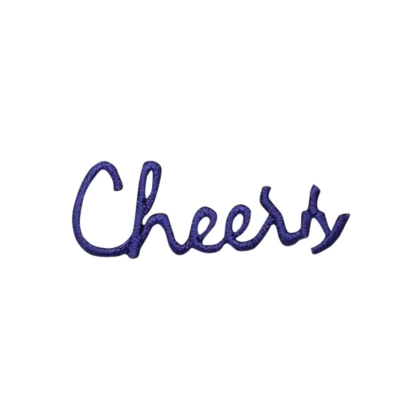 Purple Cheers Greeting