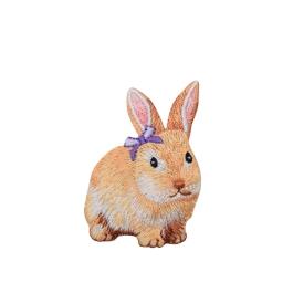 Bunny Purple Bow