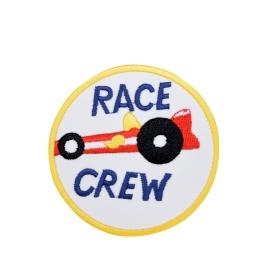 Race Crew Racing Circle Patch