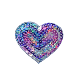 Sequin Heart - Multicolor