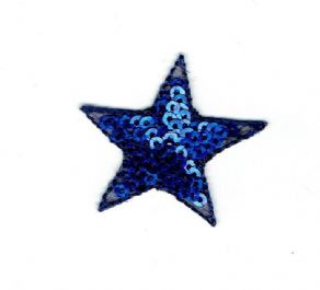 Sequin Star - Royal Blue
