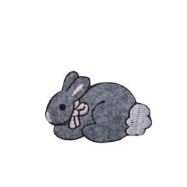 Small Fuzzy Gray Bunny Rabbit