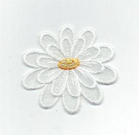Flower Layered - White
