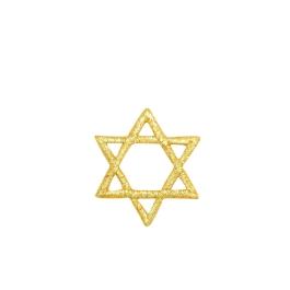 Star of David - L Gold
