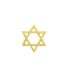 Star of David - S Gold